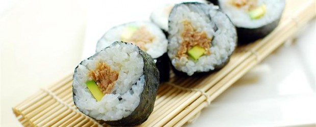 This is my take on the classic tuna and avocado roll sushi. It is important that you prepare the rice...