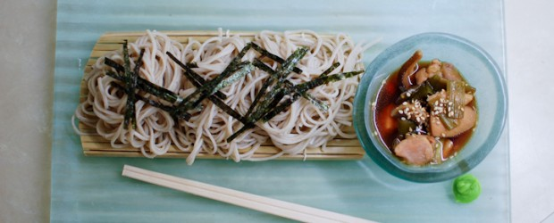 I love soba. It's packed full of vitamins and protein – great for reducing high blood pressure and keep a...