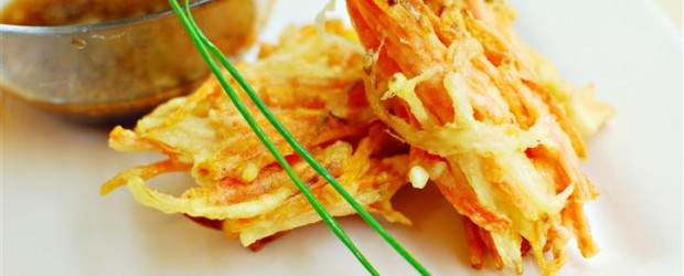 Tempura looks very simple to prepare, but as I found out, it is the most difficult! These took me a...
